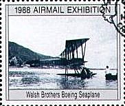 Walsh Brothers' Boeing Seaplane